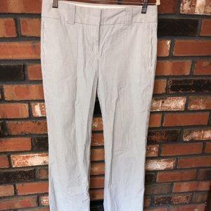 J Crew Seersucker pants size 0